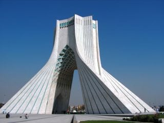 Azadi Sq, Tehran, Iran
