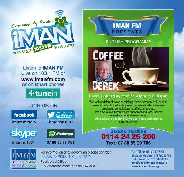 Coffee and Creativity on Iman FM